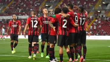 Три игрока «Милана» вернулись в строй