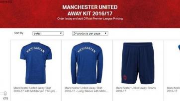 В интернет-магазине «МЮ» продаются футболки Мхитаряна