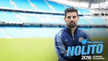 Официально: Нолито стал игроком «Манчестер Сити»