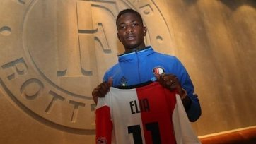 Элиа подписал новый двухлетний контракт с «Фейеноордом»