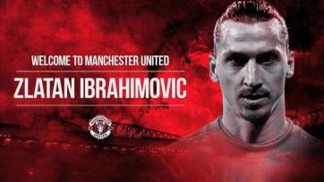 Ибрагимович прибыл в Манчестер