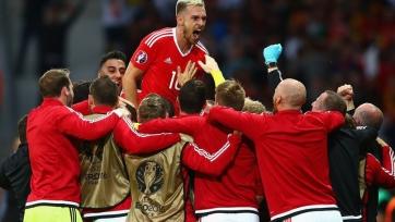 Уэльс одержал волевую победу над Бельгией и вышел в полуфинал